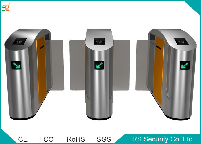 Half Height IR Sensor Automatic Turnstile Bi direction Sliding Gate