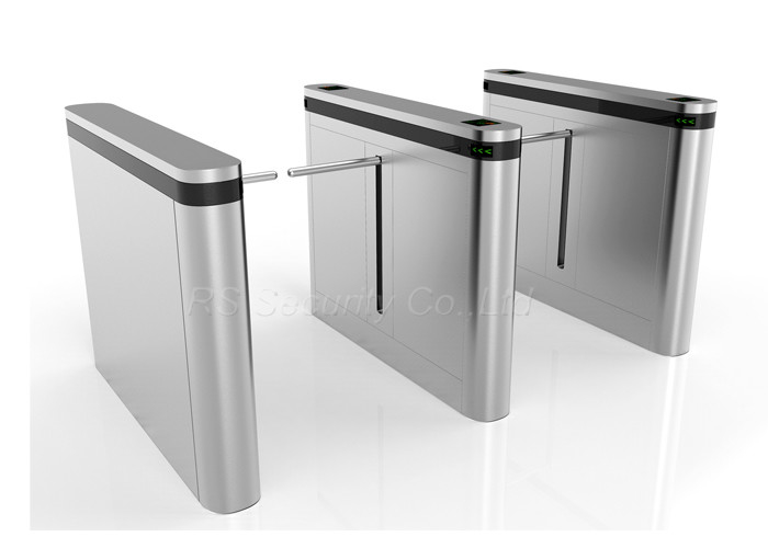 Intelligent Access Control Drop Arm Barrier , Heavy Duty Baffle Gate Electronic Barrier