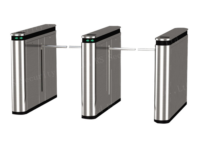 Anti Tail Gate System Drop Arm Barrier , Optical Turnstiles Controlled Access
