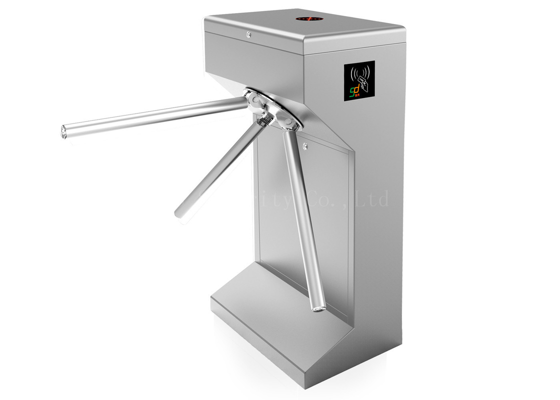 Automatic Three Rollers Turnstiles / Employees Attendance Barrier Gate