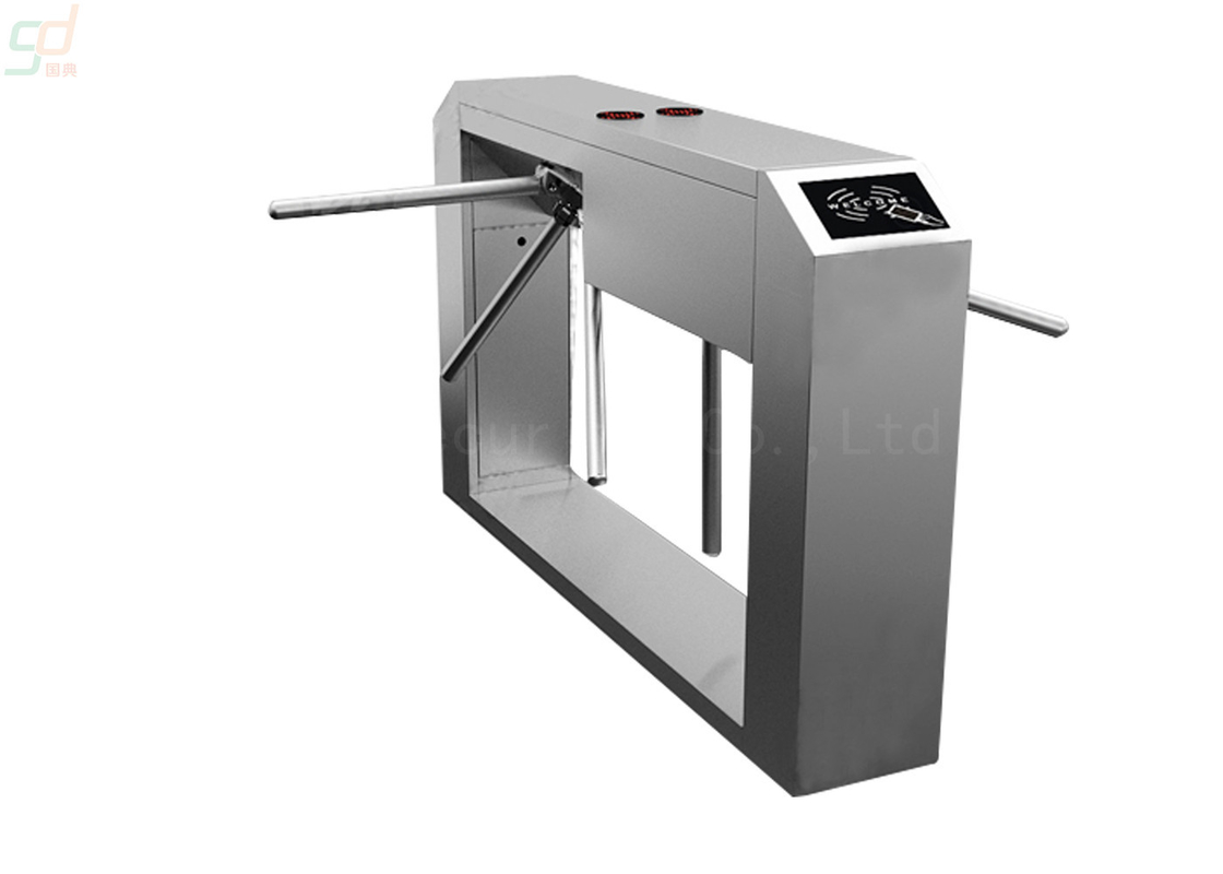 Full Automatic Stainless Steel Turnstile Gate Card Readestemr Optional Control Sy