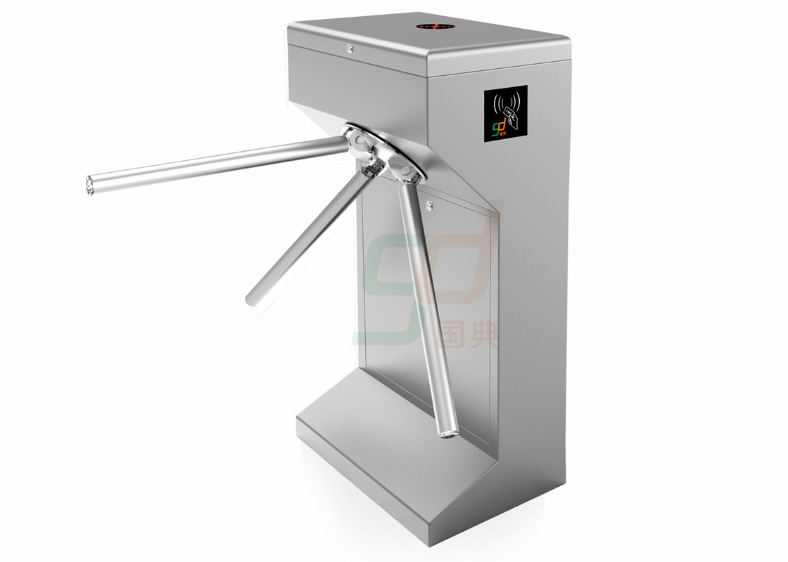 Intelligent Barrier Waist Height Turnstiles Tripod Turnstile Access 30 Person / Min