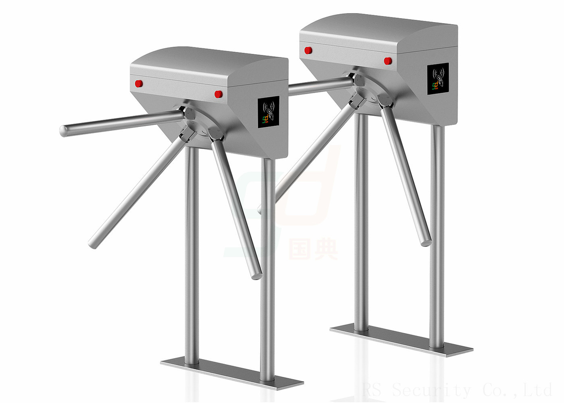 Pedestrian Waist Height Turnstiles , Three Toller Tripod Turnstyle Doors