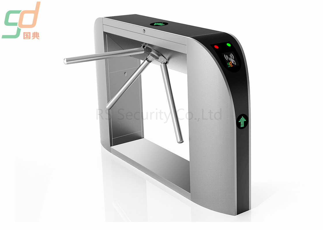 Auto Bi Directional Waist Height Turnstiles/ Tripod Turnstile Gate For Visitor Magement‎