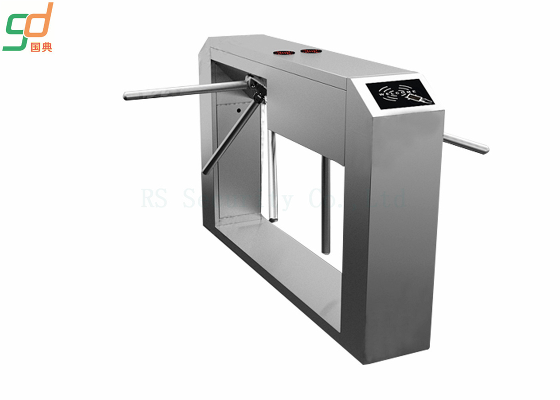 Building Access Tripod Turnstile Gate Crow Control , Automatic Turnstyle Door