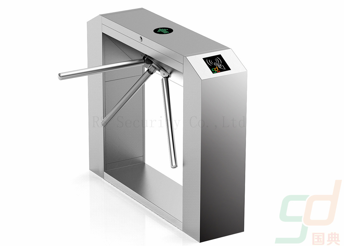 Intelligent Waist Height Tripod Turnstile Security Systems  Roller Gate