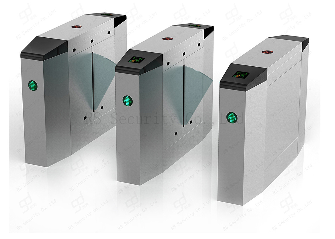 Facial Reader Automatic Turnstiles Stainless Steel Fap Barrier Entrance Control Solution