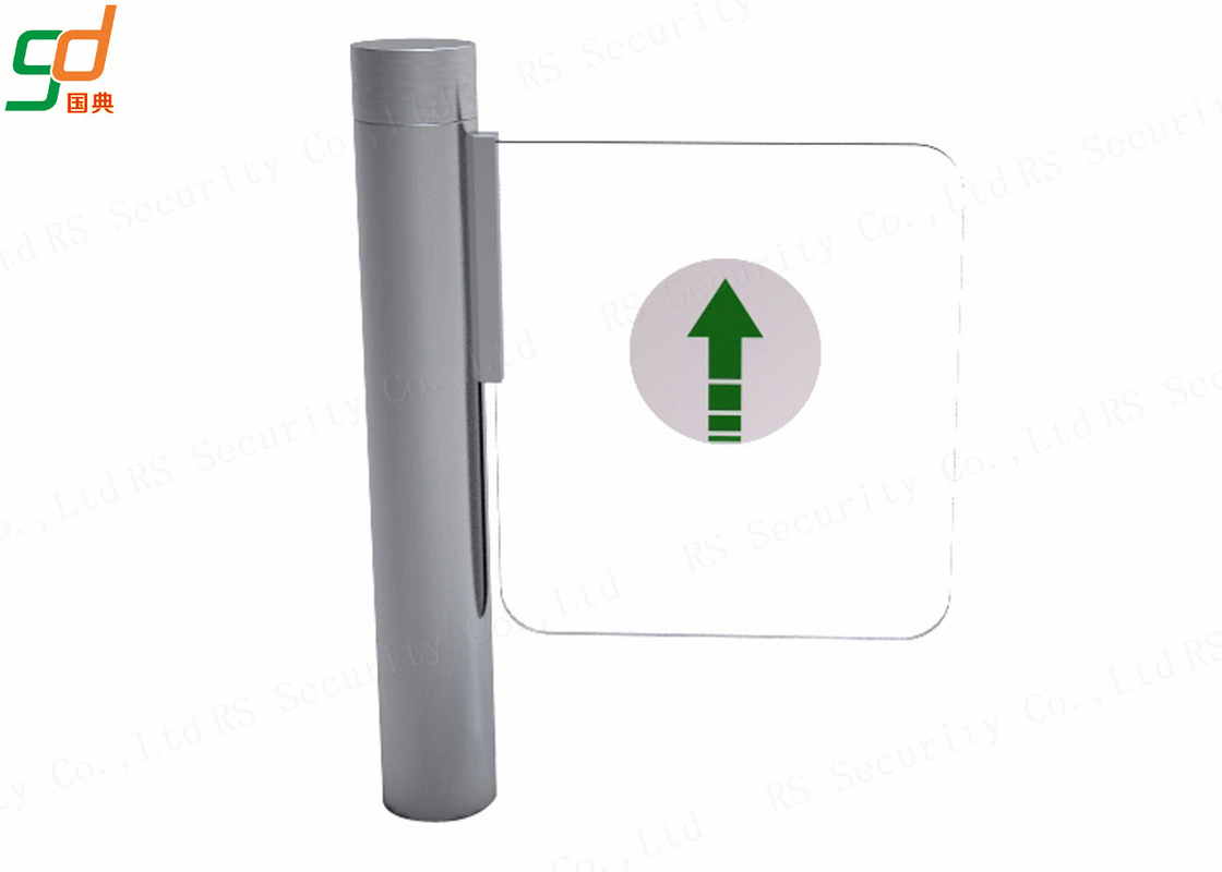 RFID Access Swing Barrier Gates Fast Speed 304 Stainless Steel Turnstiles