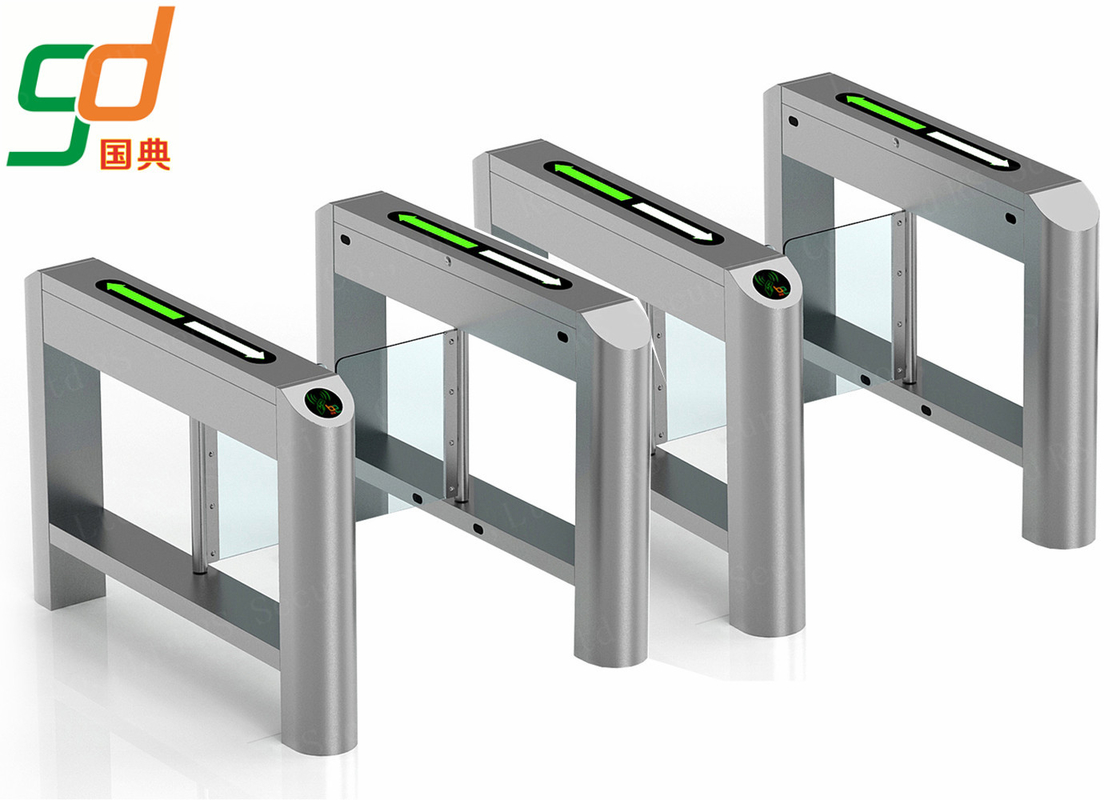 Outdoor IP54 Automatic Commercial Swing Barrier Gate System,RFID Turnstiles