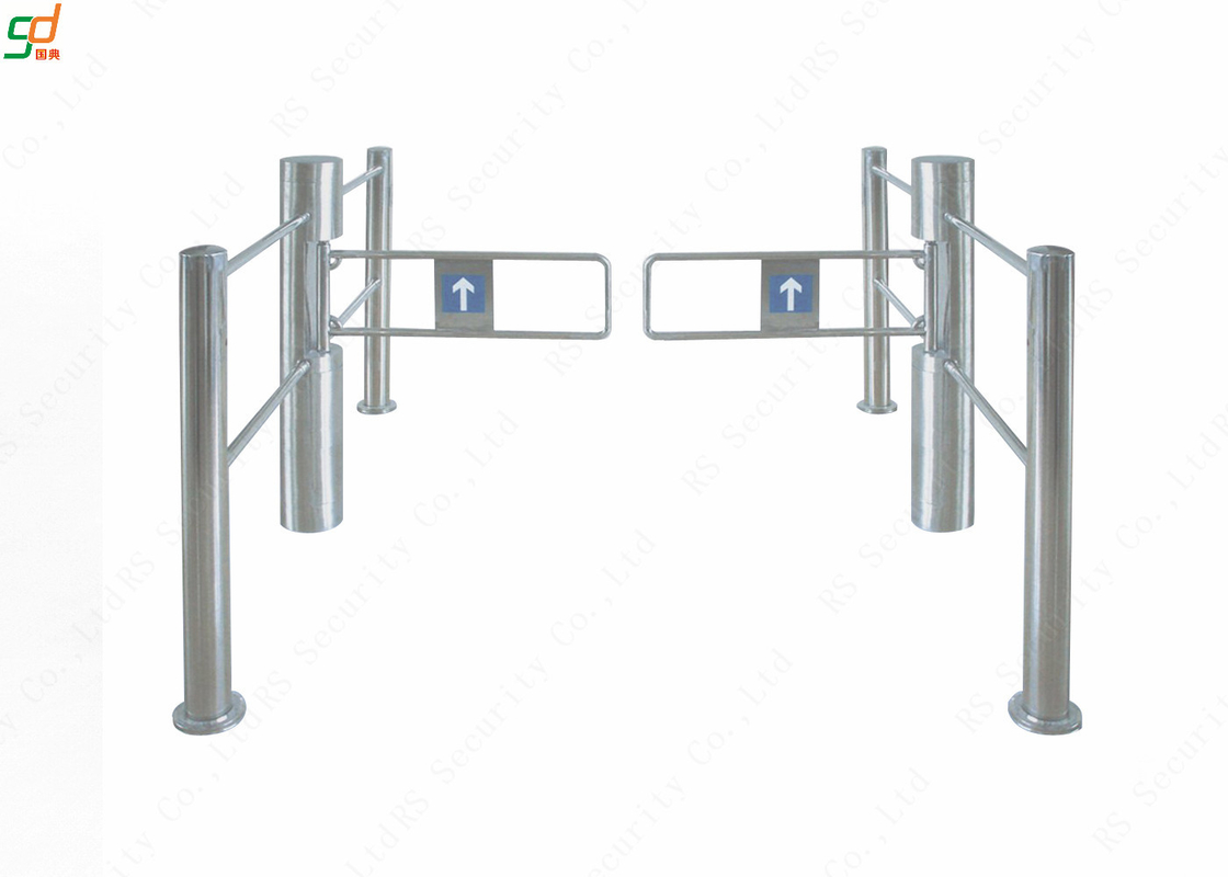 Intelligent Auto Reset Supermarket Swing Gate High Security Turnstiles