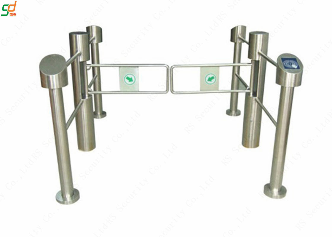 Automatic Turnstiles Supermarket Swing Gate, Access Control Turnstile Swing Door