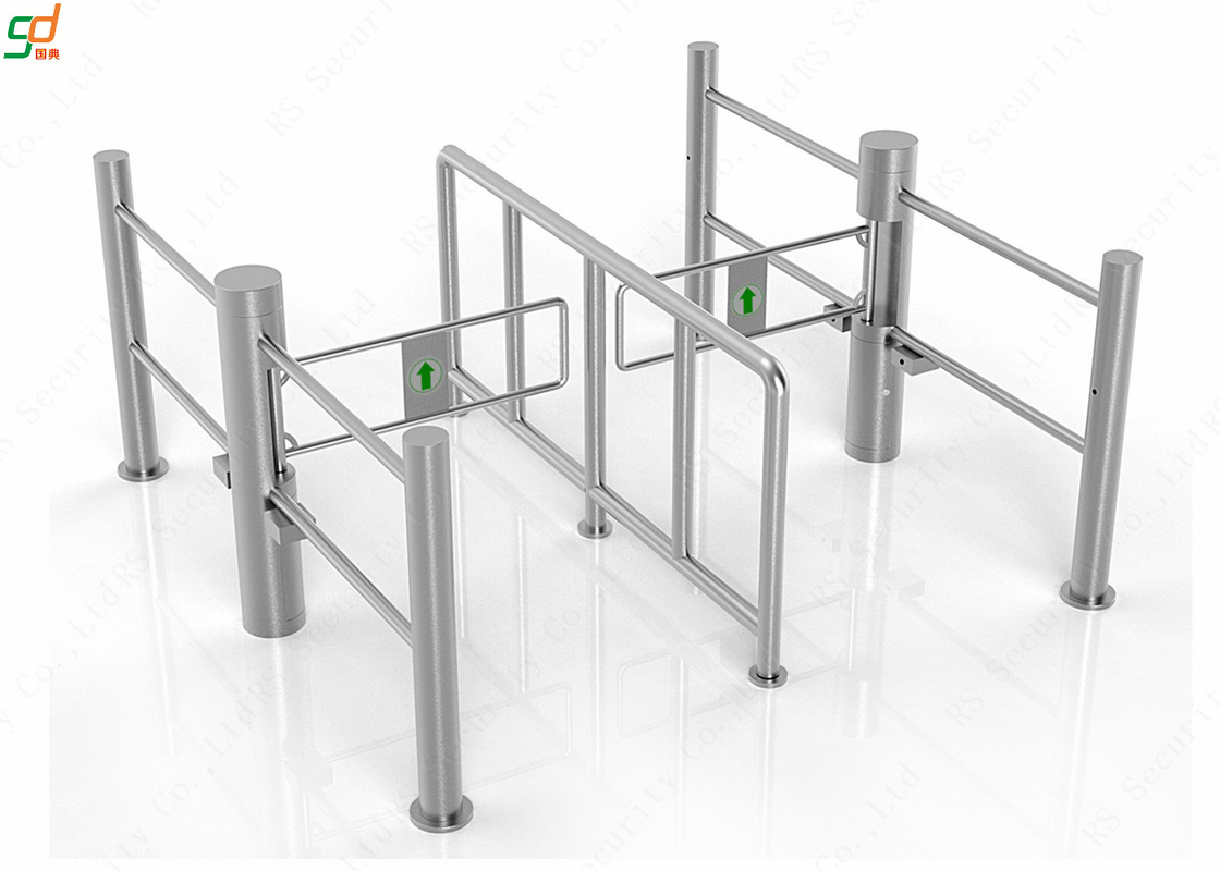 Supermarket Swing Barrier Gate Turnstiles,Weelchair Aceess Gate Swing Doors