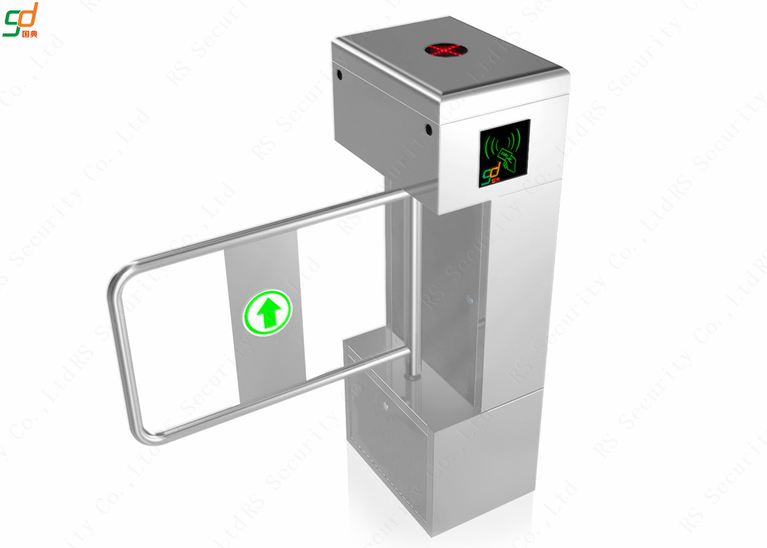 RS Security Supermarket Swing Barrier, Access Control Vertical Turnstiles
