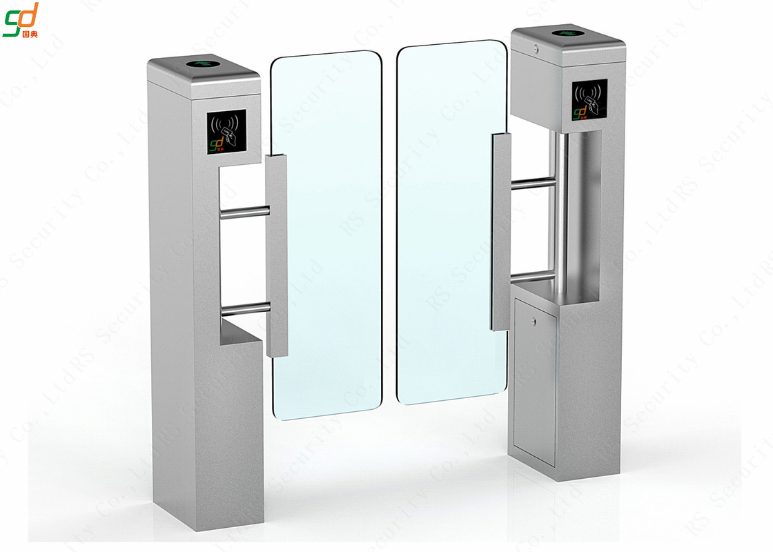ID IC Card Reader Swing Barrier Gate Entrance Control Turnstile Solution