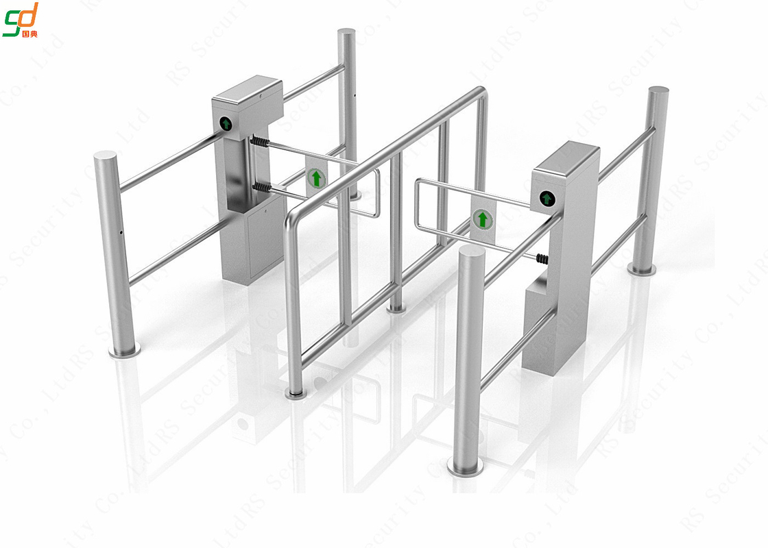 Pedestrian Turnstiles Swing Barrier Gate automatic Security Turnstyle Gate