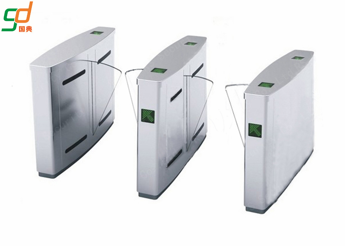 Automated Turnstile Gate Systems, Crowd Access Control Flap Barrier Gate