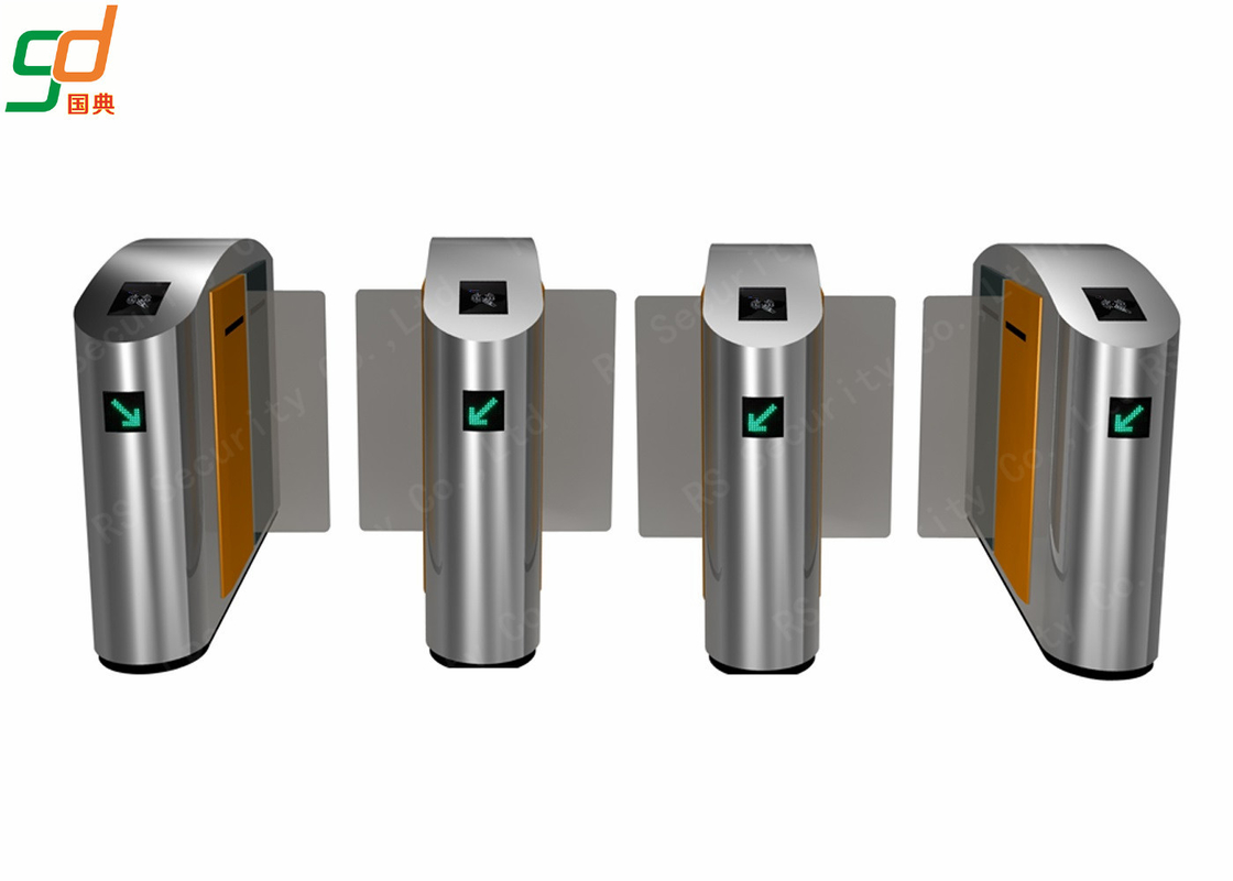 Automatic Speed Gates Systems RFID Reader Sliding Turnstile Gate
