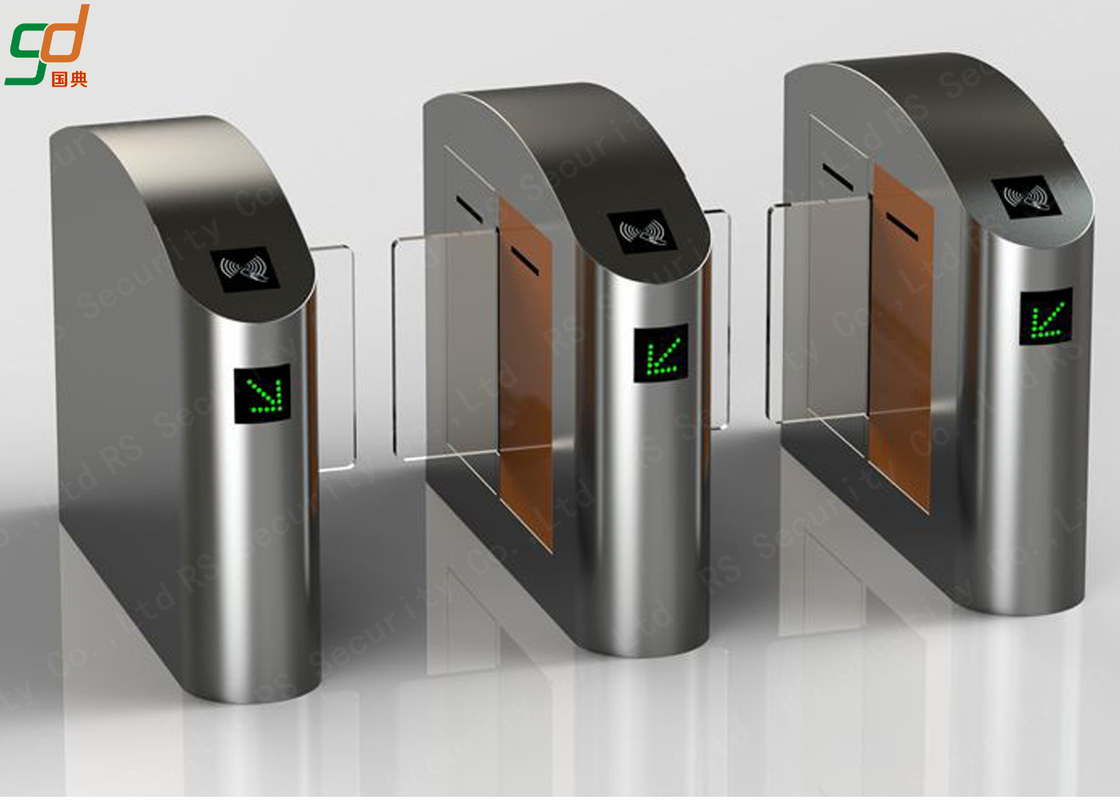 Automatic Speed Gates Turnstiles/ Intelligent Controlled Access Turnstile Sliding