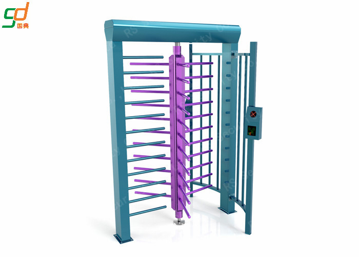 RFID Full Height Turnstiles / Data Entry Gate Automatic Security Barriers