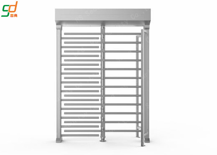 Single Channel High Security Turnstiles Barrier Gate with stainless steel