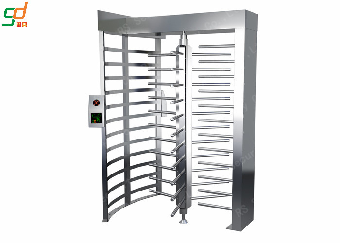 Durable Full Height Turnstiles Access Passge System Security Rotary Turnstile Gate