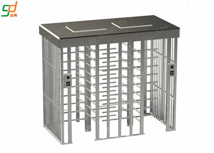 Double Lane Full Height Turnstiles Prevent Illegal Access Control Turnstar Gate