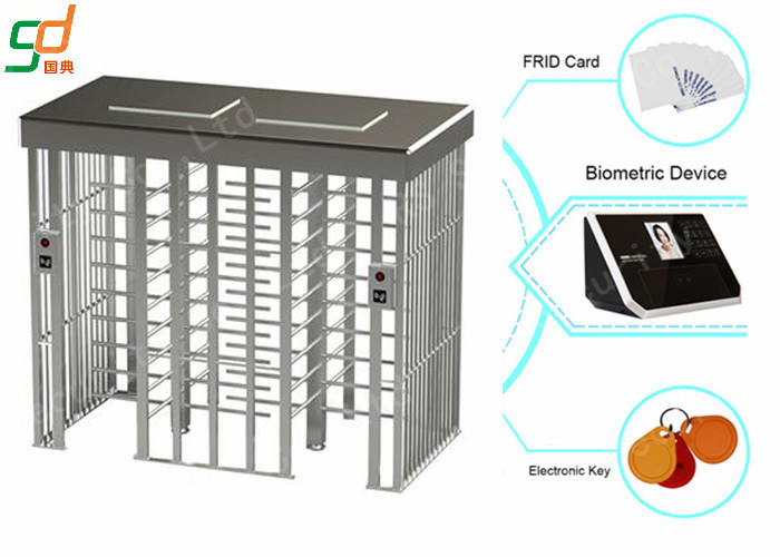 Half Full Height Turnstiles Especially Suitable For Factory External Facilitices