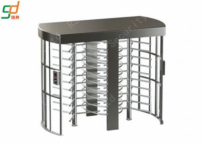 Security Full Height Turnstiles Card Access Rotor Turnstile Gate