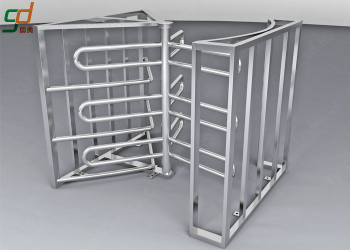 Full Height Turnstile Security Systems, Double Way Access Control Turnstiles Gate
