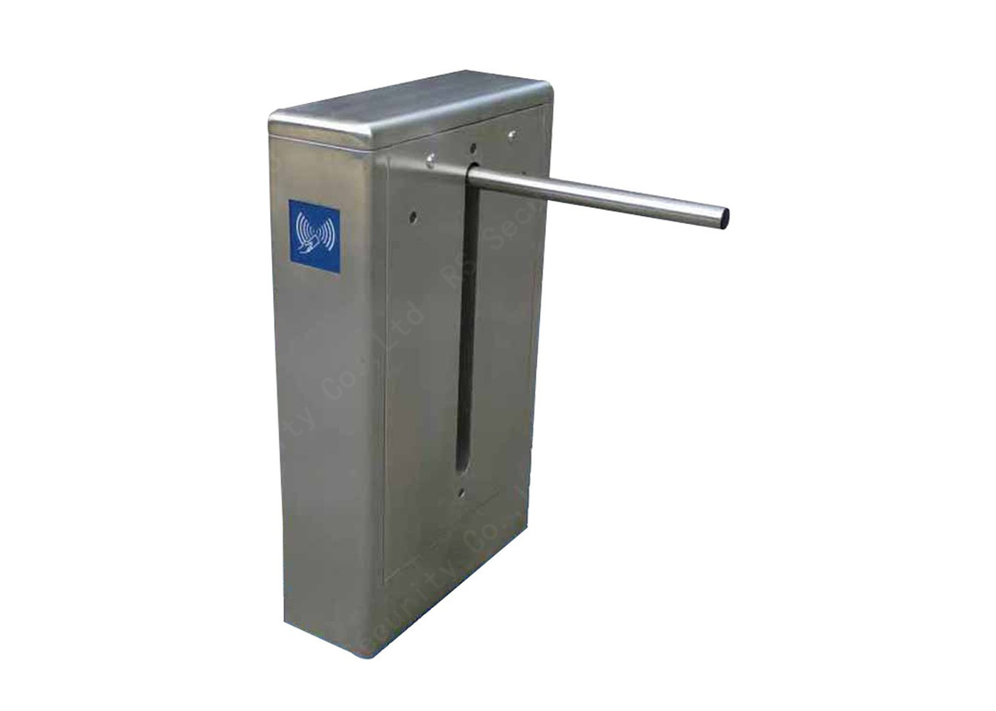 Office IR Sensor Drop Arm Barrier High Grade Bi-direction Turnstiles