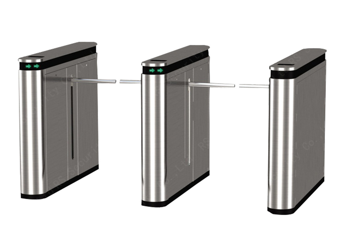 Fingerprint Optional Waist Height Tripod Turnstile Management