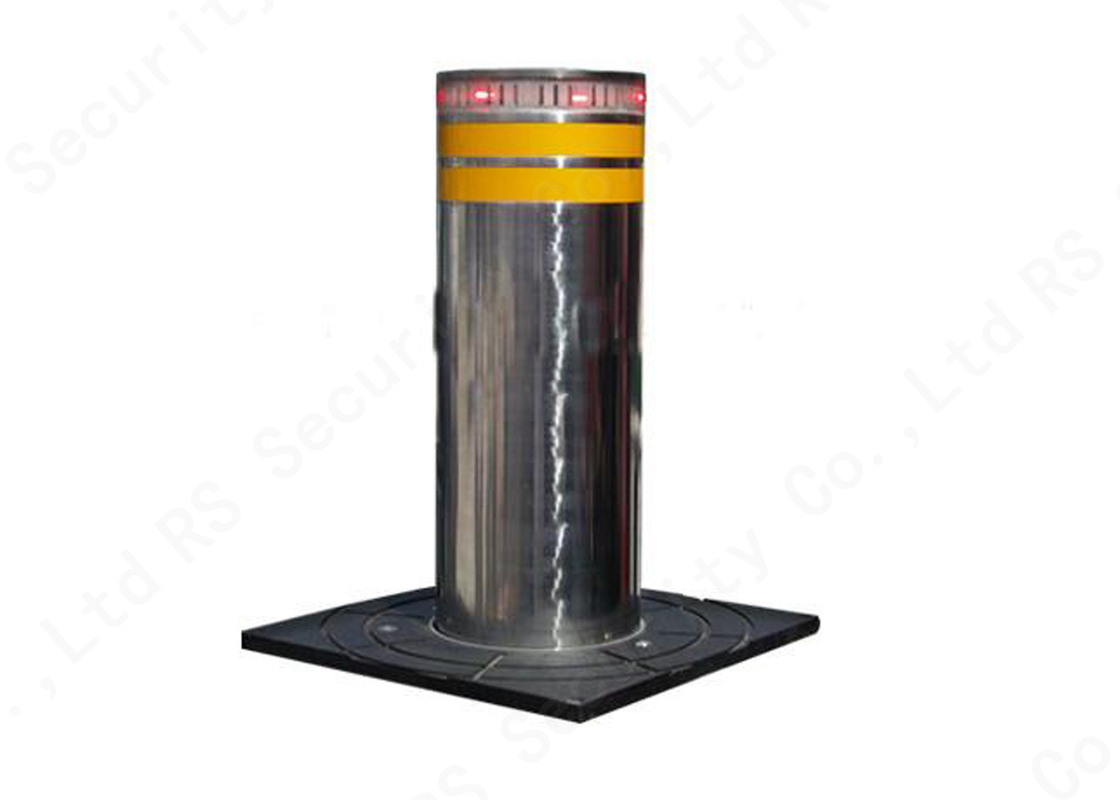 Fold Down Automatic Parking Posts Road Bollard With Led , Hydraulic Control