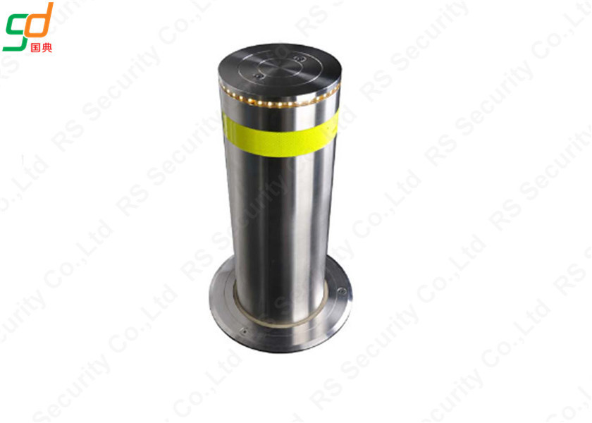 219mm Diameter Fixed Hydraulic Bollards K4 Rated Traffic Bollard Fail