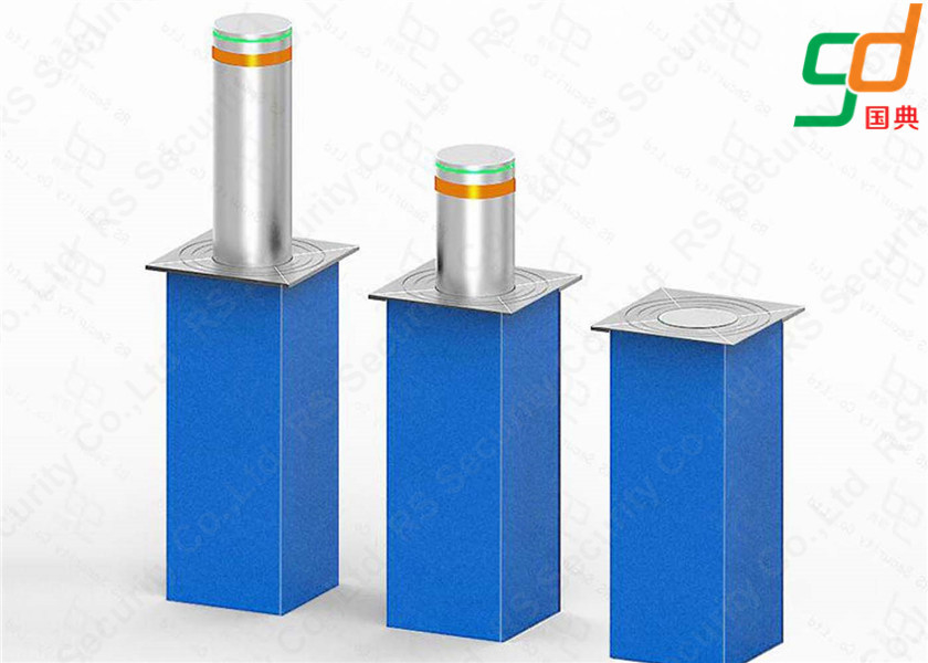 Drving Over Safety Hydraulic Bollards K4 Rated Rising Bollard Electric