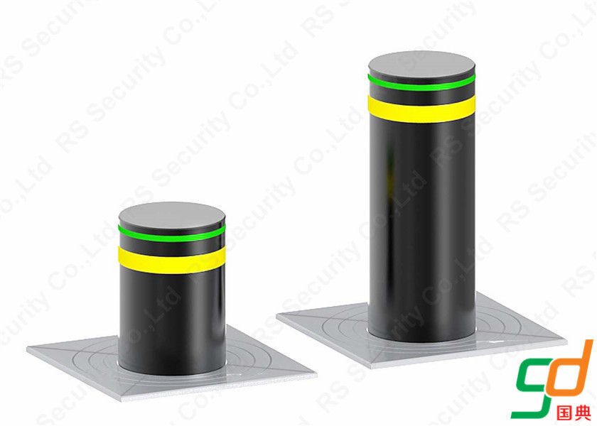 K8 Rated Hydraulic Bollards Fixed Rising Bollard System Manufacturer