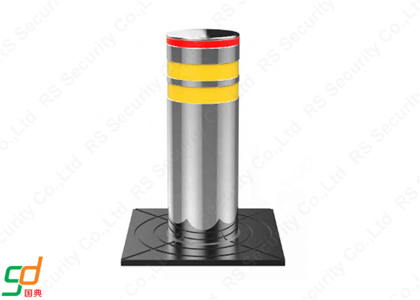 Removeable 6mm K4 Rated Hydraulic Bollards Galvanized Automatic Bollard
