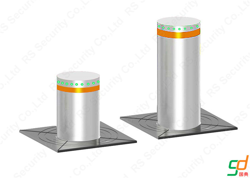 K8 Rated Immersible Hydraulic Bollards Traffic Barriers For Driveway